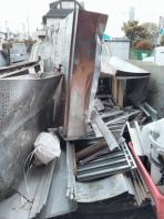 H29年1月20日より、清水鮮魚店様の撤去作業の様子です。