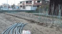 H29年3月30日 宮城野区田子余目 関内様。ビニールハウス解体作業完了致しました。