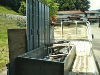 7月3日。遺品整理② 川崎町・今野様宅。追加で倉金様作業現場。