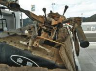 8月2日。手押しトラクター撤去。