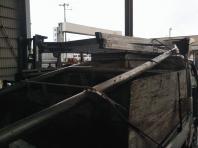 9月1日~4日。青木様資材置場の鉄物撤去でした。